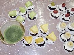 抹茶とよく合う和菓子の完成!