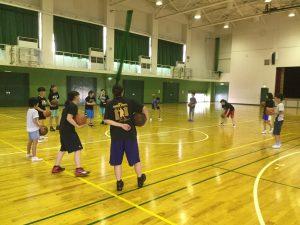中学校女子バスケットボール部練習会のお知らせ