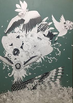 高校美術部 全日本学生美術展推奨受賞